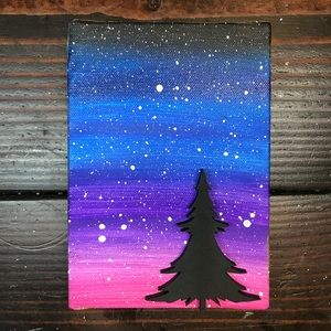 Canvas Lasercut Art, Space and Stars Galaxy